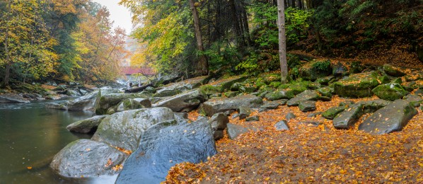 Slippery Rock Creek apmi 1959 by Artistic Photography