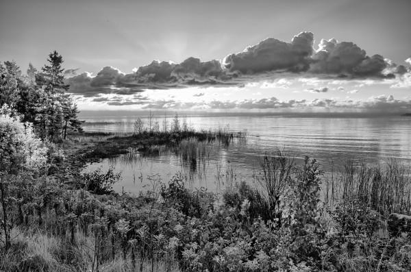 Sunrise ap 2698 B&W by Artistic Photography