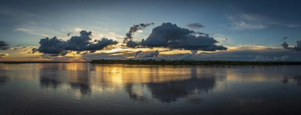 Araguaia River Sunset by Augusto Miranda