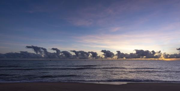 Sunrise Clouds by Augusto Miranda