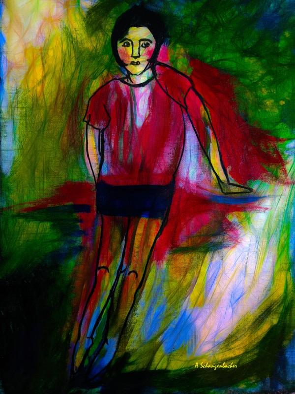 Being Young Again by Aurelia Schanzenbacher Sisters Fine Arts