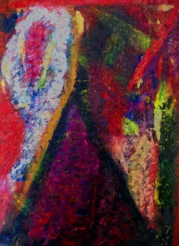 The Climber by Aurelia Schanzenbacher Sisters Fine Arts