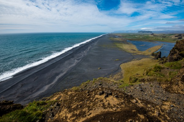 Black Sand Beach by Aurelio Matthew Leal