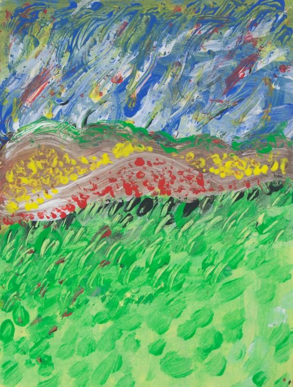 windy landscape by BBS Art