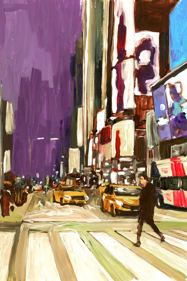 NY Friday Night by Bart E Slyp