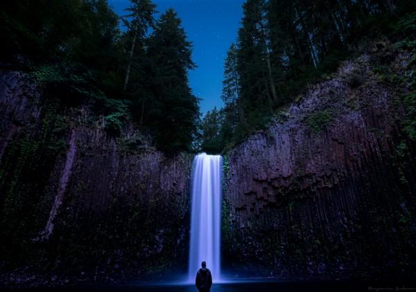 Abiqua Falls by Ben Jackman