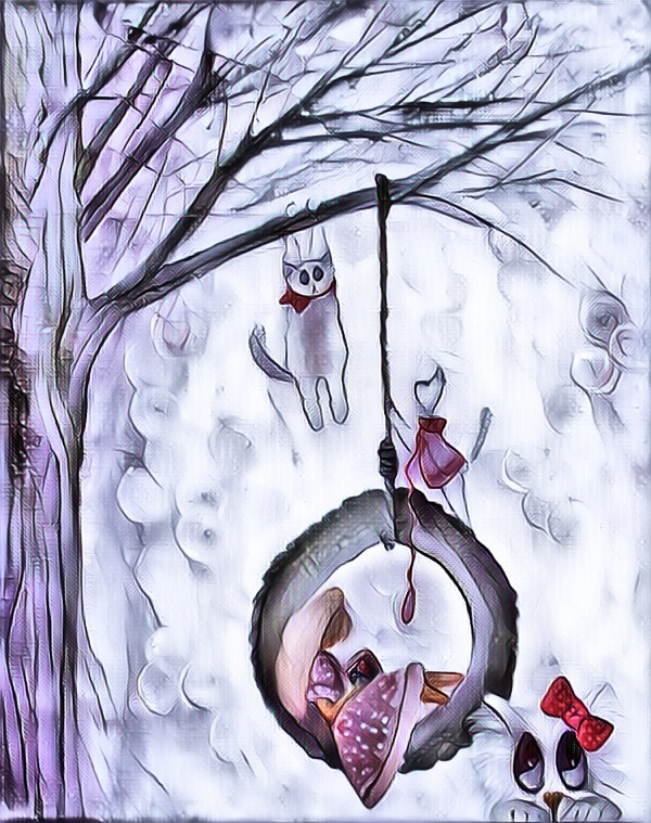 3 petit chats 2 by Biji sylvie faucher