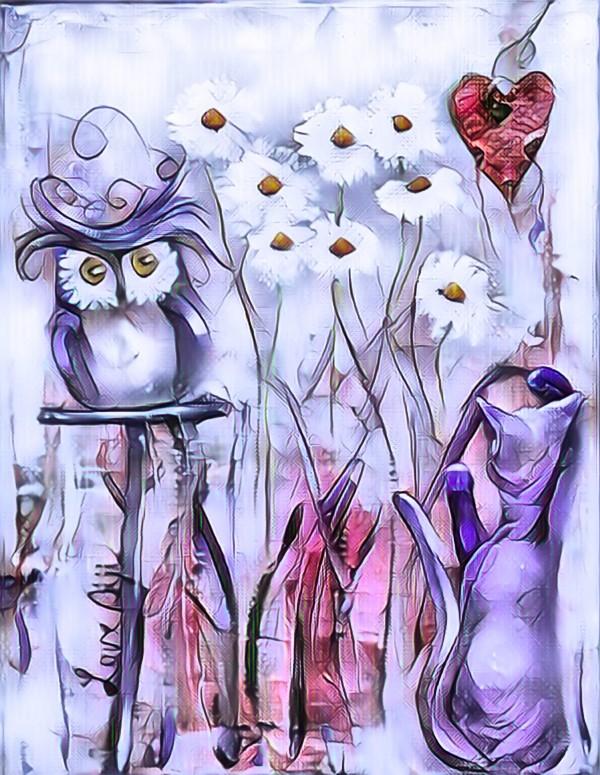 Marguerites by Biji sylvie faucher
