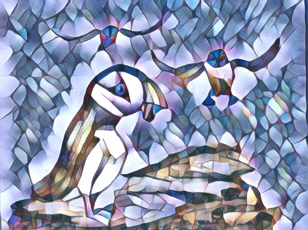 Le macareux  by Biji sylvie faucher