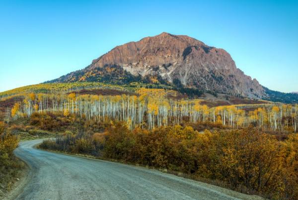 AUTUMN ON MARCELINA MOUNTAIN by Bill Sherrell