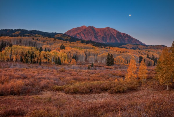 EAST BECKWITH MOUNTAIN-COLORADO by Bill Sherrell