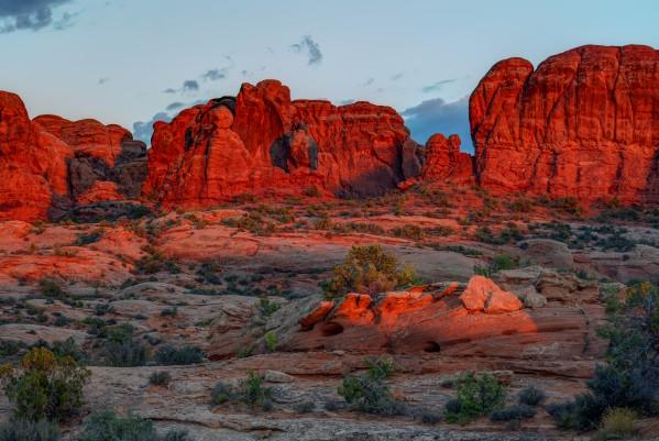 GLOWING ROCKS  by Bill Sherrell
