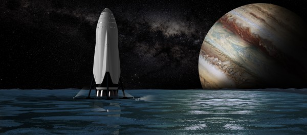 Interplanetary Transport with Jupiter 092716 by Bill Swartwout Photography