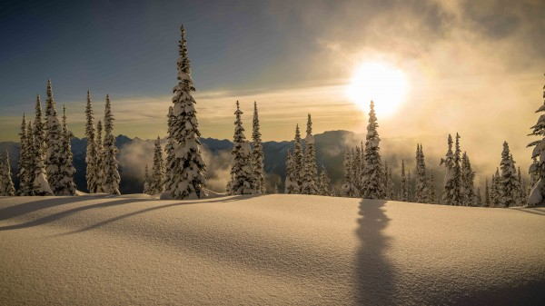 Trout lake BC Alpine sunset by Billy Stevens media