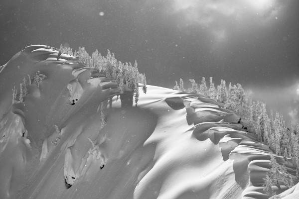 Cornice ridge Kaslo BC by Billy Stevens media