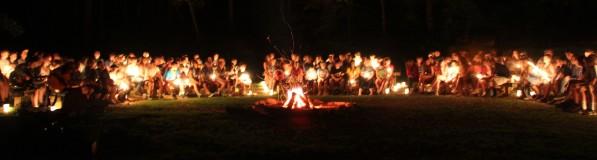 Campfire by Bob Vogt
