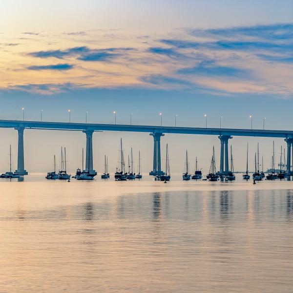 Boat Bridge by Brendan McMillan