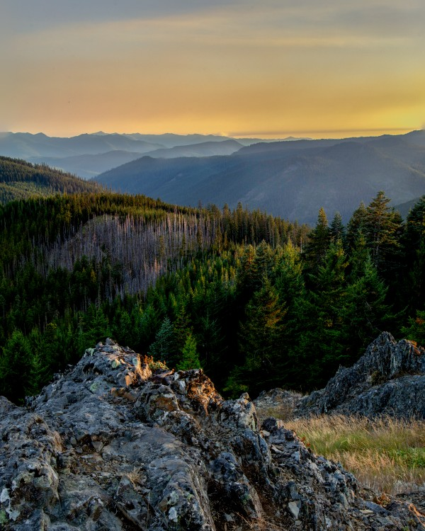 Mountain Layers by Brendan McMillan