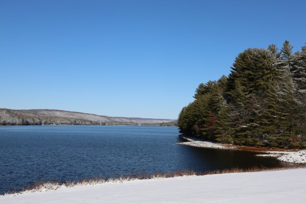 Reservoir in White by Brian Camilleri Photography