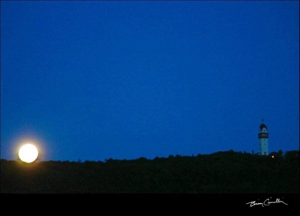 Tower Moon by Brian Camilleri Photography