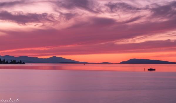 Qualicum Beach Sunset DSC_3485 by Brian Macleod