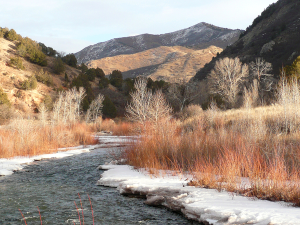 Diamond Fork River by Brian Shaw