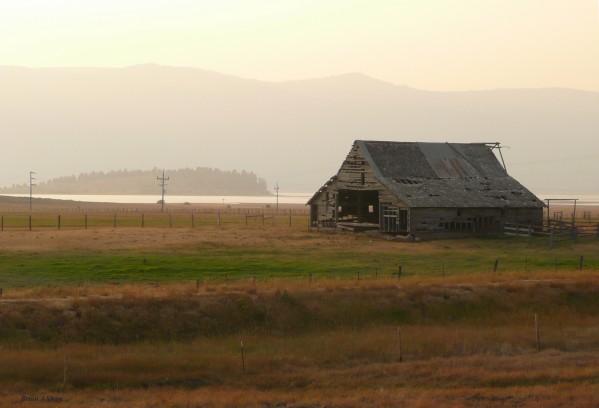 Old Idaho Barn by Brian Shaw