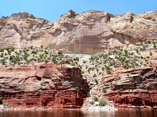 Pink Cliffs Flaming Gorge by Brian Shaw