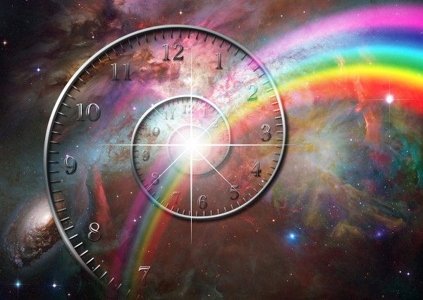 Time space by Bruce Rolff