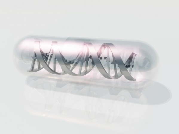 DNA Capsule by Bruce Rolff