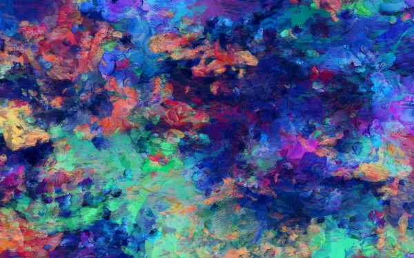Abstract Colors by Bruce Rolff