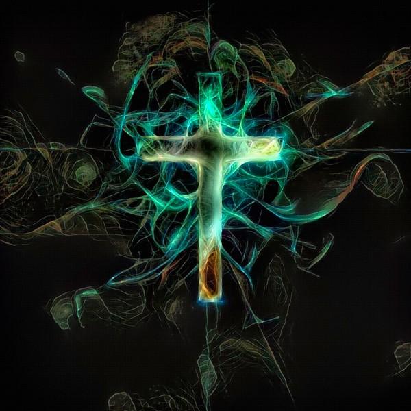 Cross by Bruce Rolff