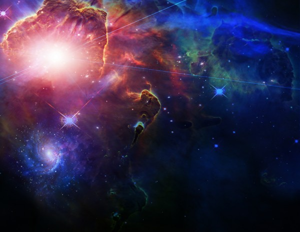Colors of Universe - Surreal Space Art by Bruce Rolff