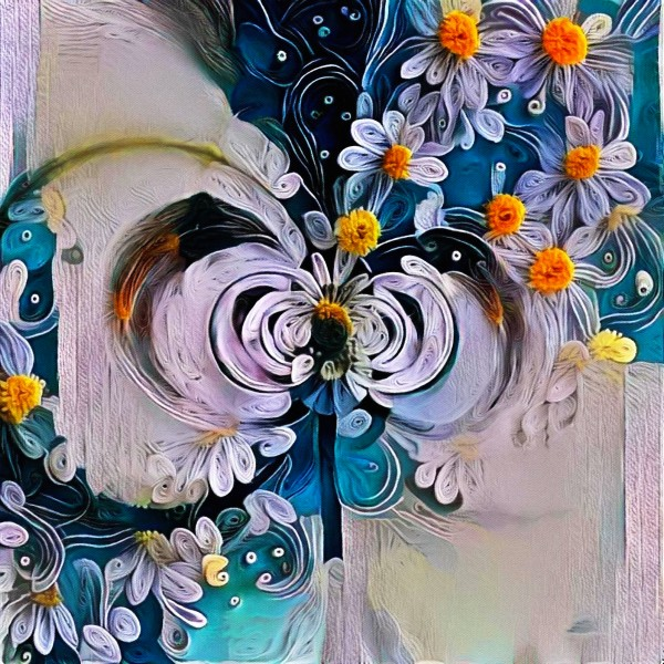 Flower Fractal by Bruce Rolff