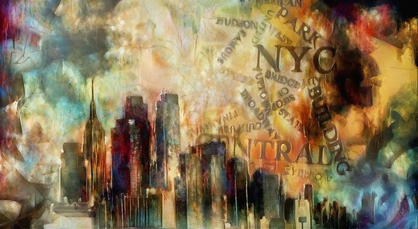 New York Skyline Art by Bruce Rolff