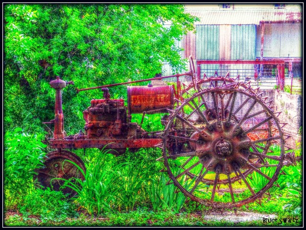 Antique Tractor HDR by Bruce Swartz