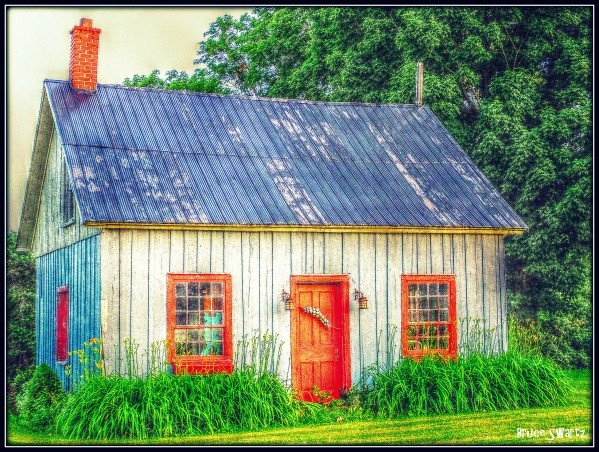 The Old Farm House HDR by Bruce Swartz