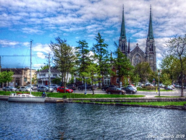 High Dynamic Range Cathedral & Waterside by Bruce Swartz