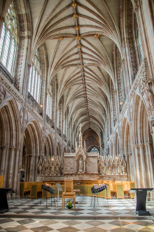 Litchfield Cathedral 2 by Bunnoffee Photography