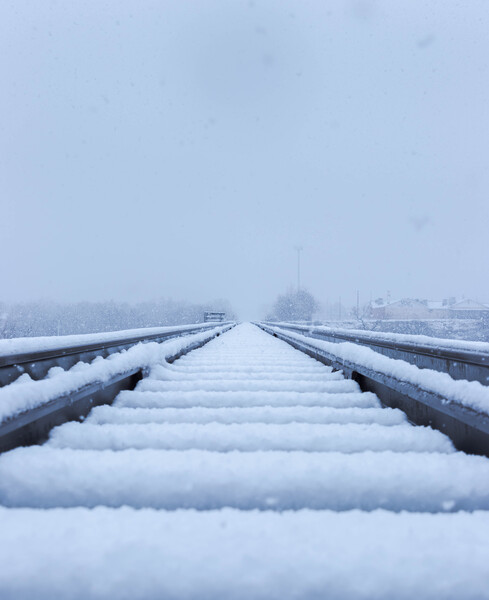 Frozen Tracks by C-Nick Photography