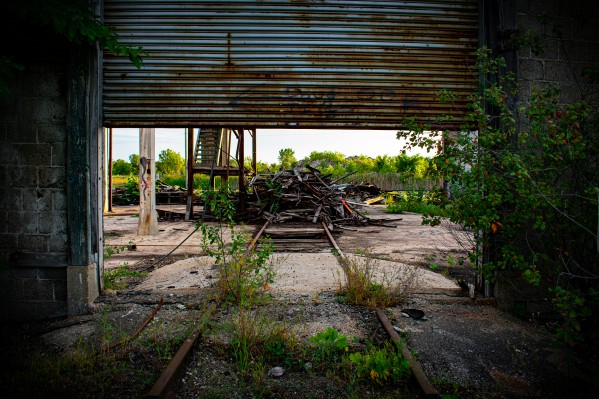 Abandoned Train Station by Cameraman Klein