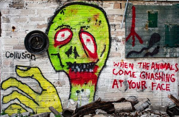 Graphic Graffiti by Cameraman Klein
