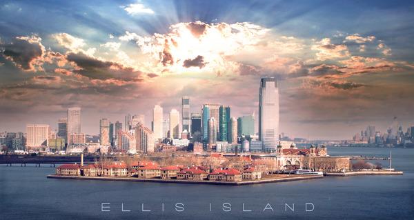 Ellis Island by Chase Nevada Michaels