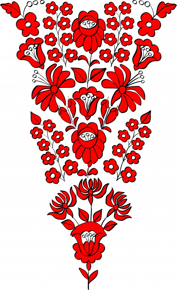 red hungarian pattern by Chino20