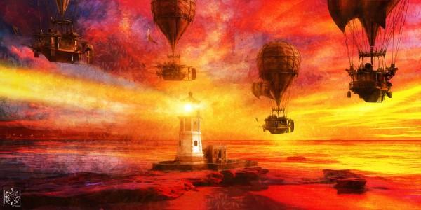 Beacon Shores by ChrisHarrisArt