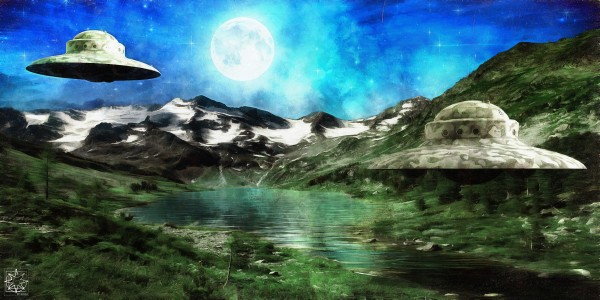 Evidence 1.1 UFOs by ChrisHarrisArt