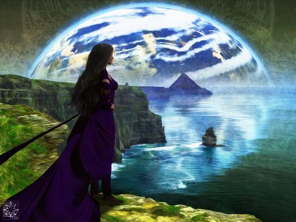 Looking Outward by ChrisHarrisArt