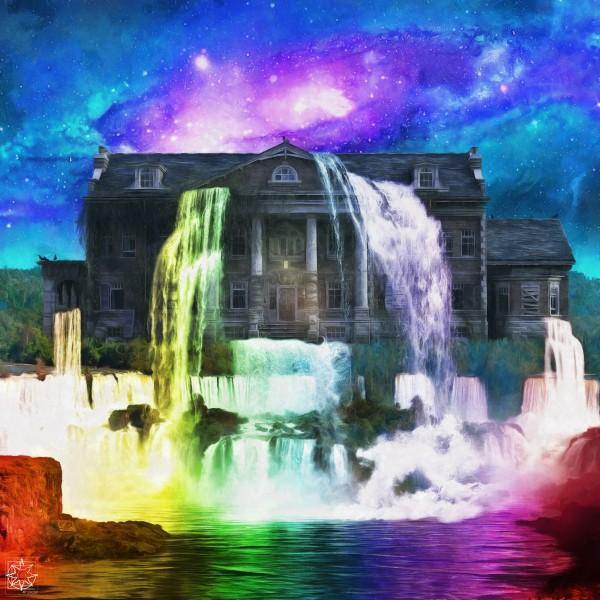 Skyfalls Manor by ChrisHarrisArt