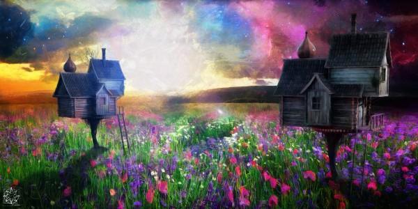 Tempus Vernum or Springtime by ChrisHarrisArt