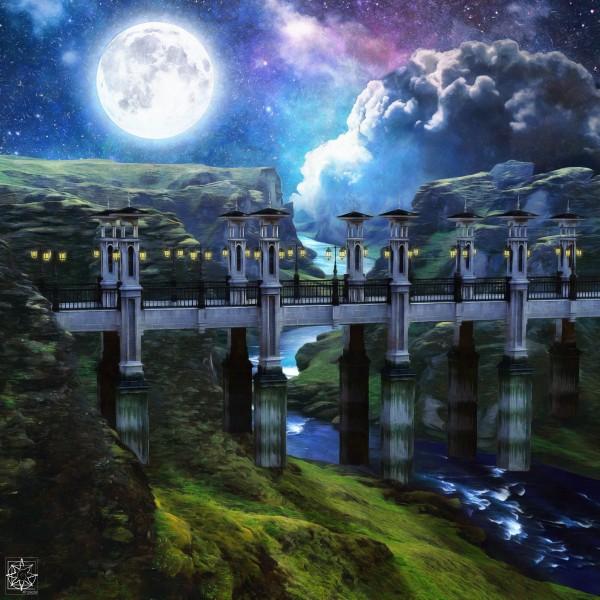 The Eloquent Bridge by ChrisHarrisArt